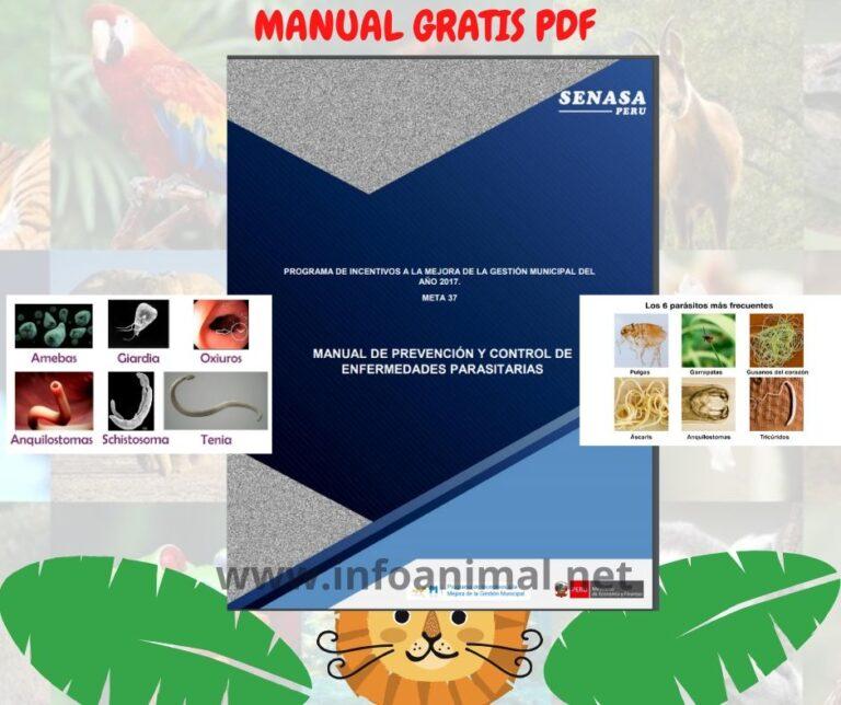Manual de prevención de Enfermedades parasitarias en animales. PDF GRATIS